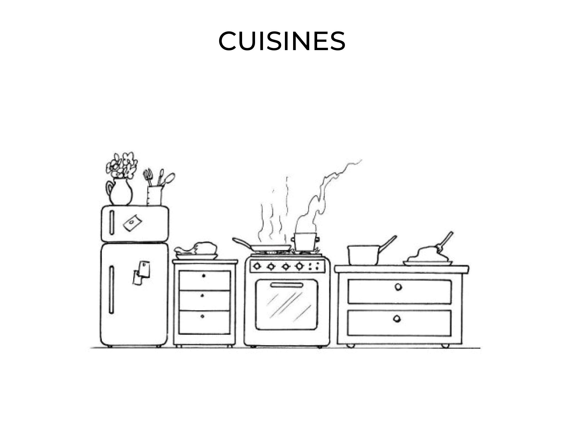 projets de création de cuisine
