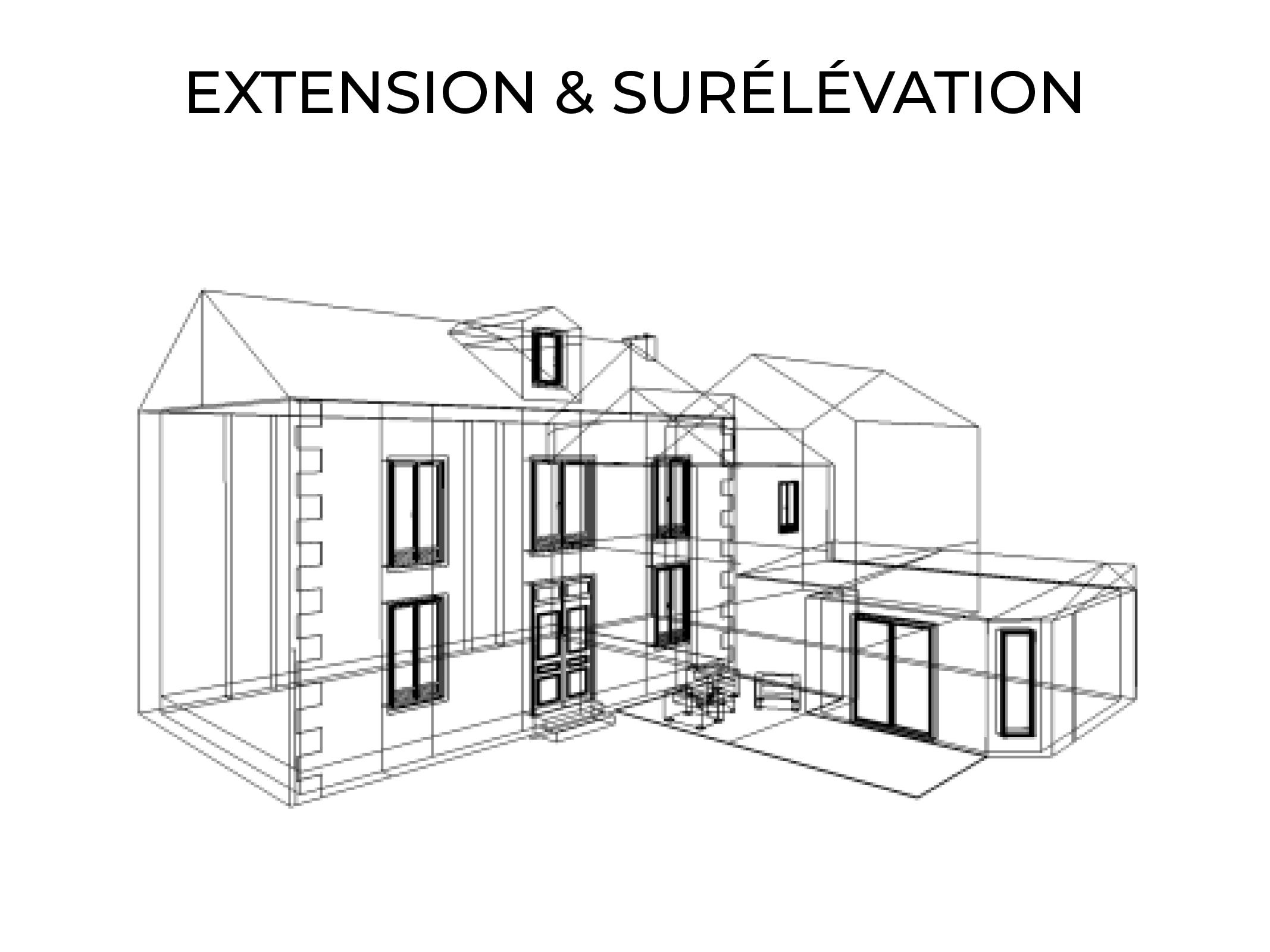 projet d'extension et surélévation